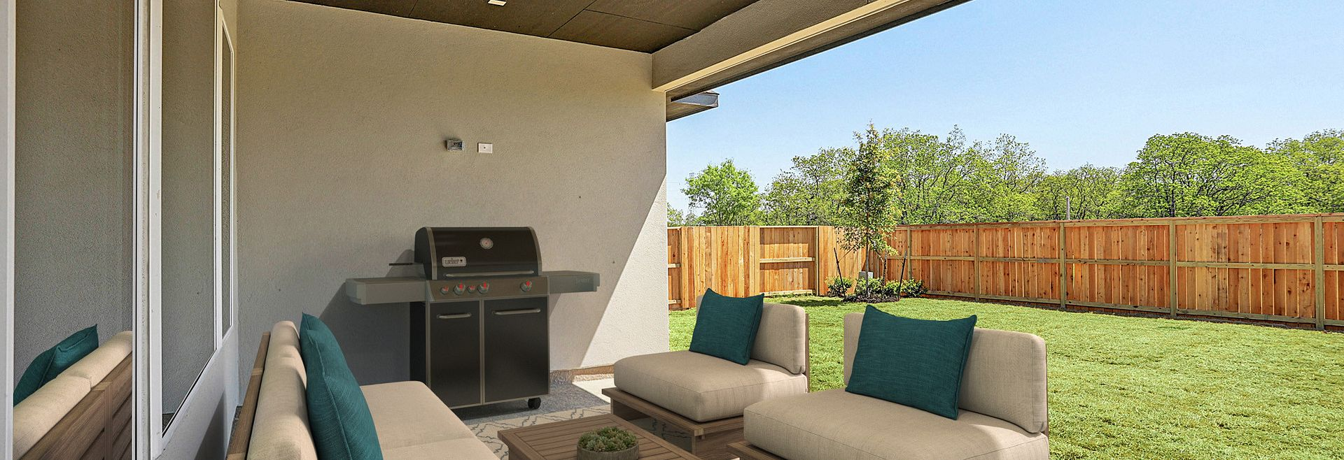 Plan 6010 Outdoor Living