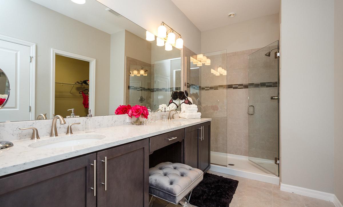 Trilogy Orlando Affirm Model Home Master Bath