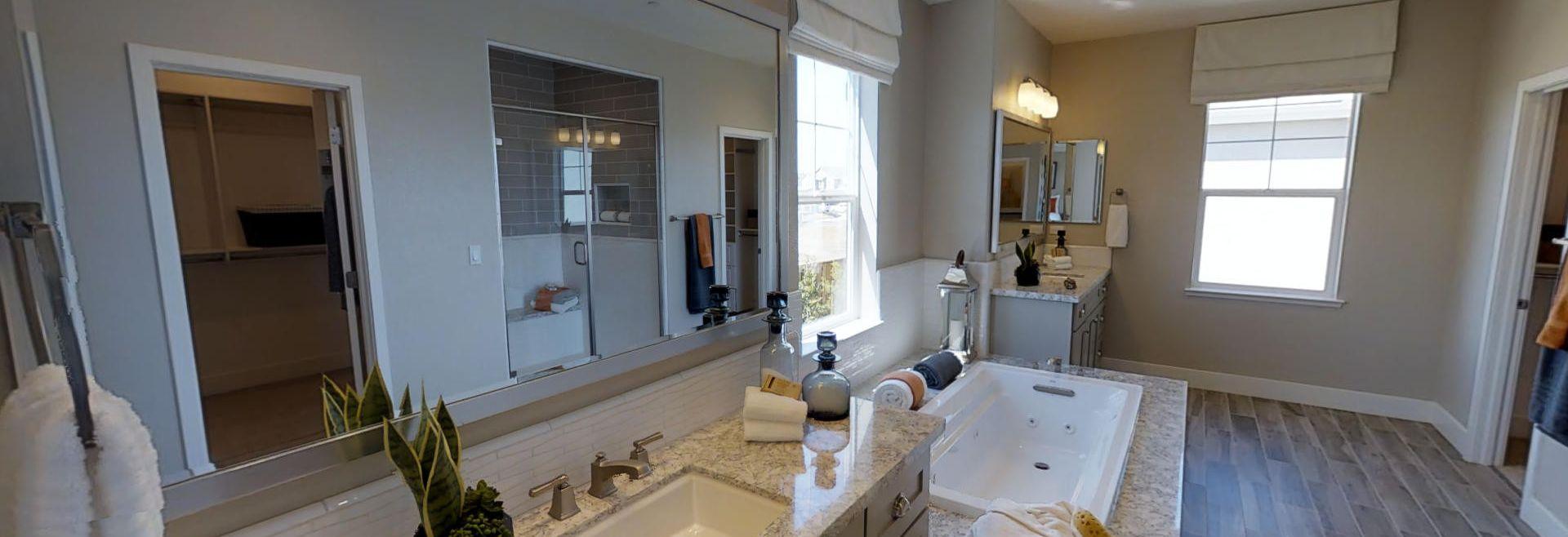 Ashford Plan 1 Master Bathroom