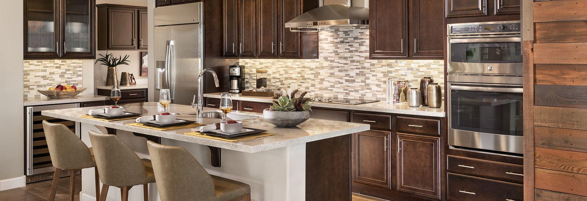 Mosaic Model Kitchen