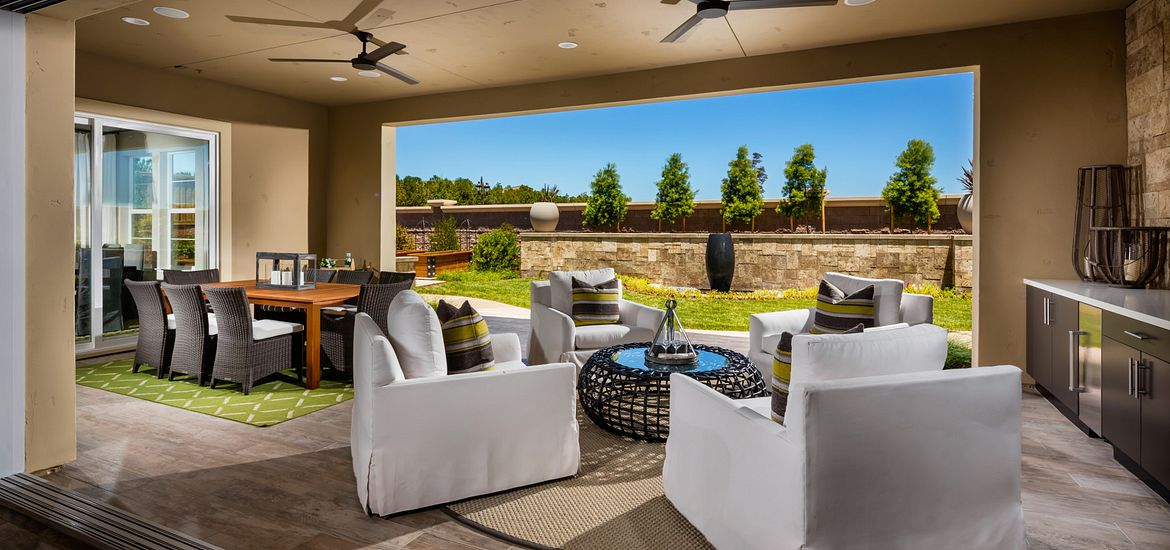 Vista Dorado Plan 3 Outdoor Room