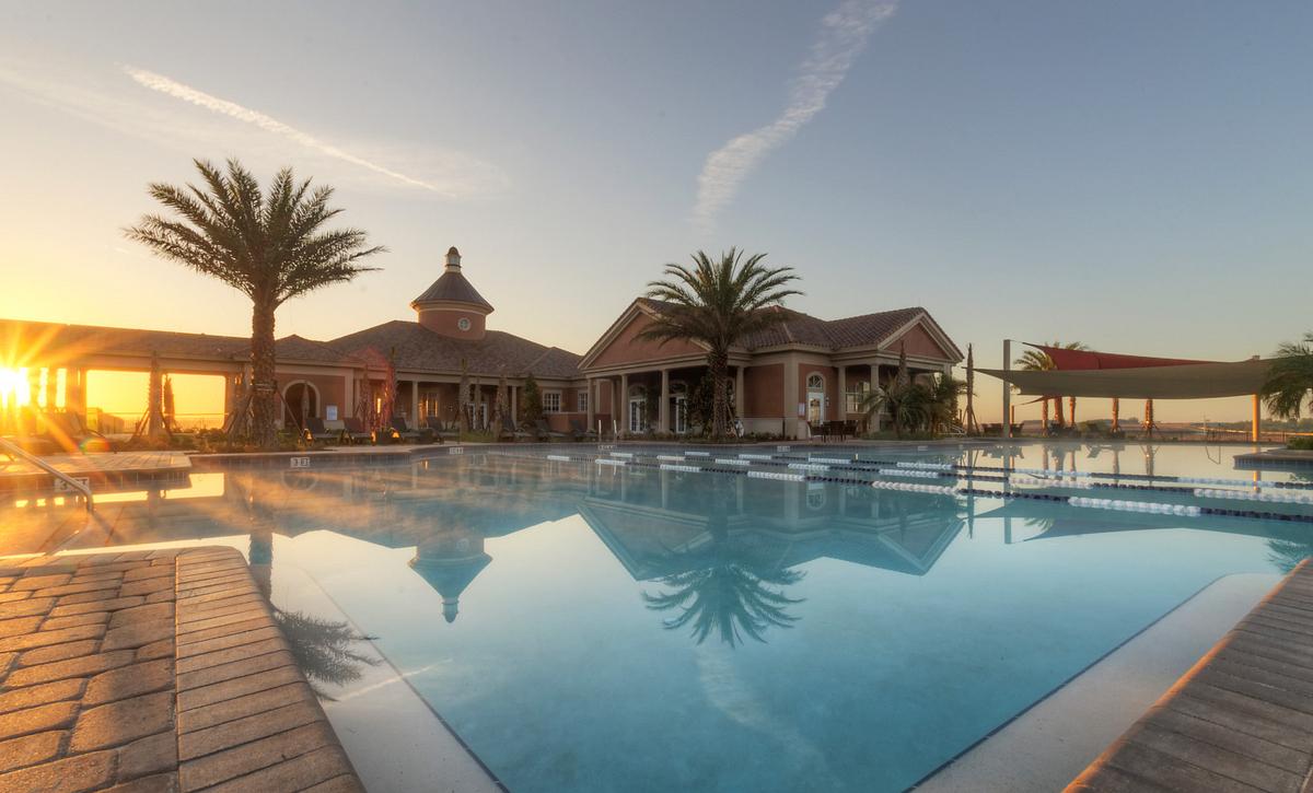 Trilogy Orlando Outdoor Pool