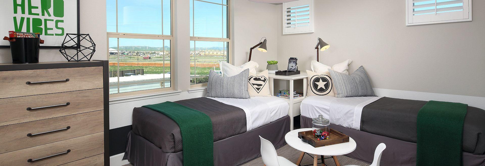 Plan 1 Kids Bedroom