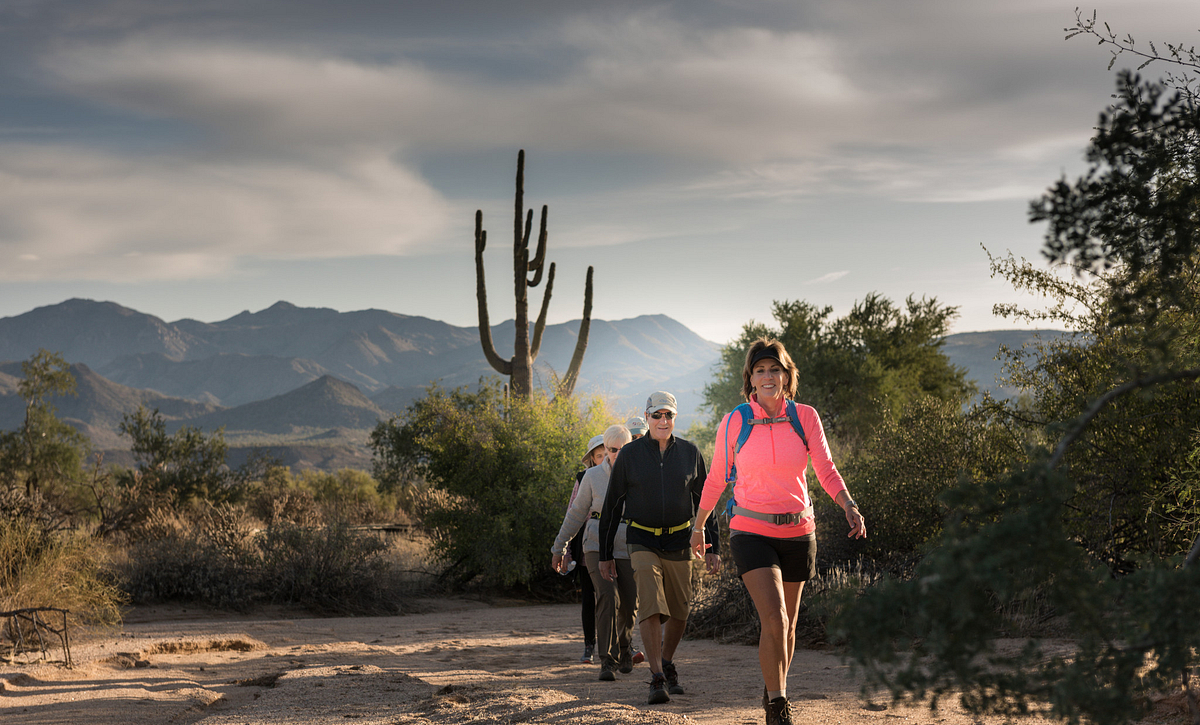 Trilogy Homeowners Hiking