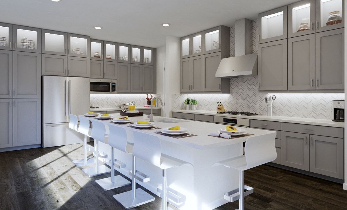 Trilogy Summerlin Luster Kitchen Rendering