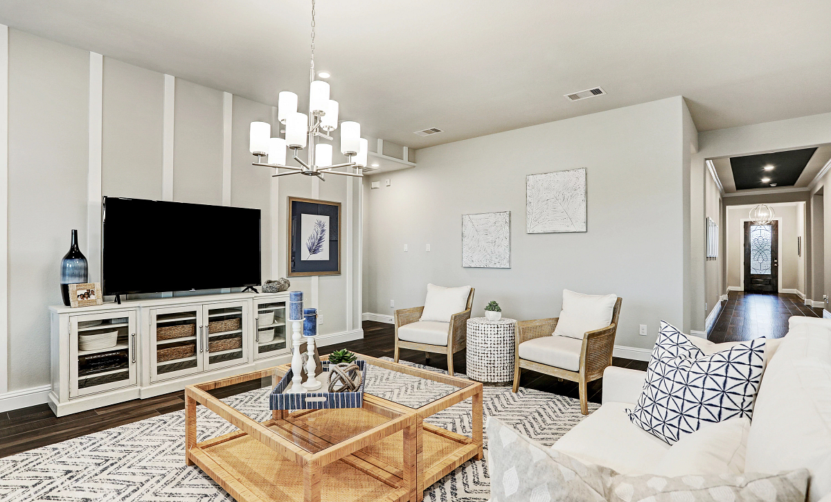 Harper's Preserve Plan 5029 Living Room