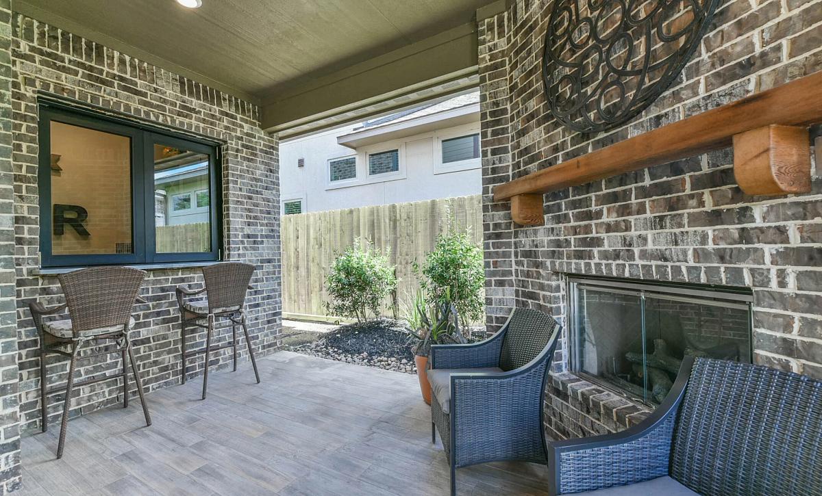Harper's Preserve Plan 5051 Outdoor Living