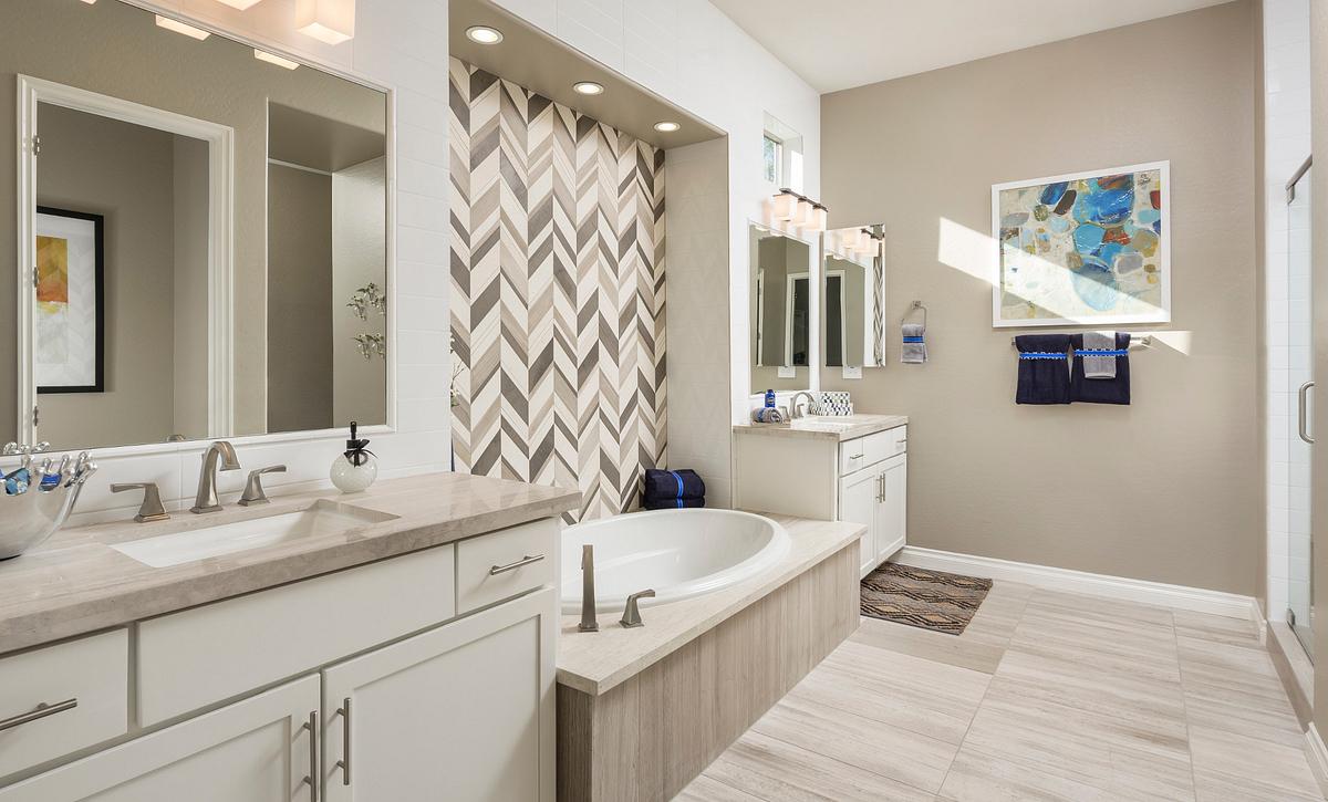 Alora Model Master Bathroom
