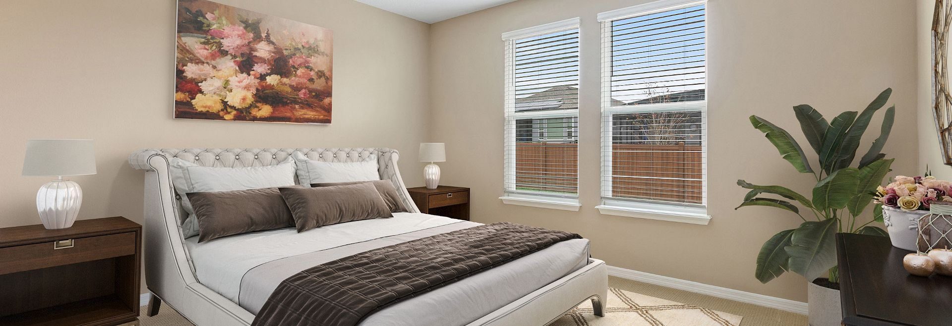Trilogy Orlando Quick Move In Capri Plan Home Master Bed