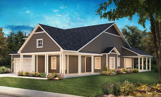Captivate Exterior C: New Farmhouse