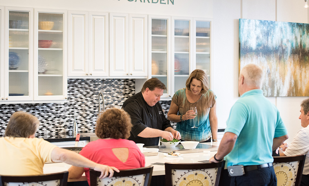 Trilogy Orlando Cooking Demo with Chef