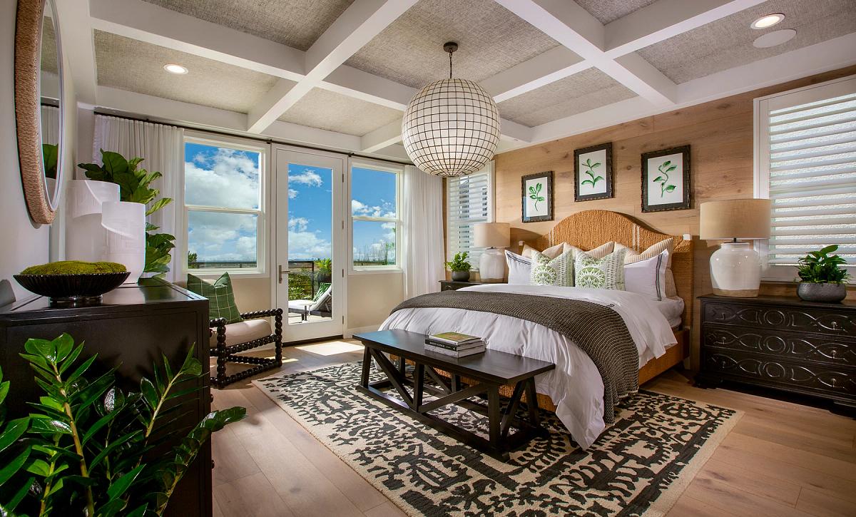 Plan 2 Master Bedroom