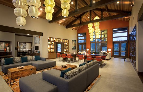Trilogy at Tehaleh Grand Living Room