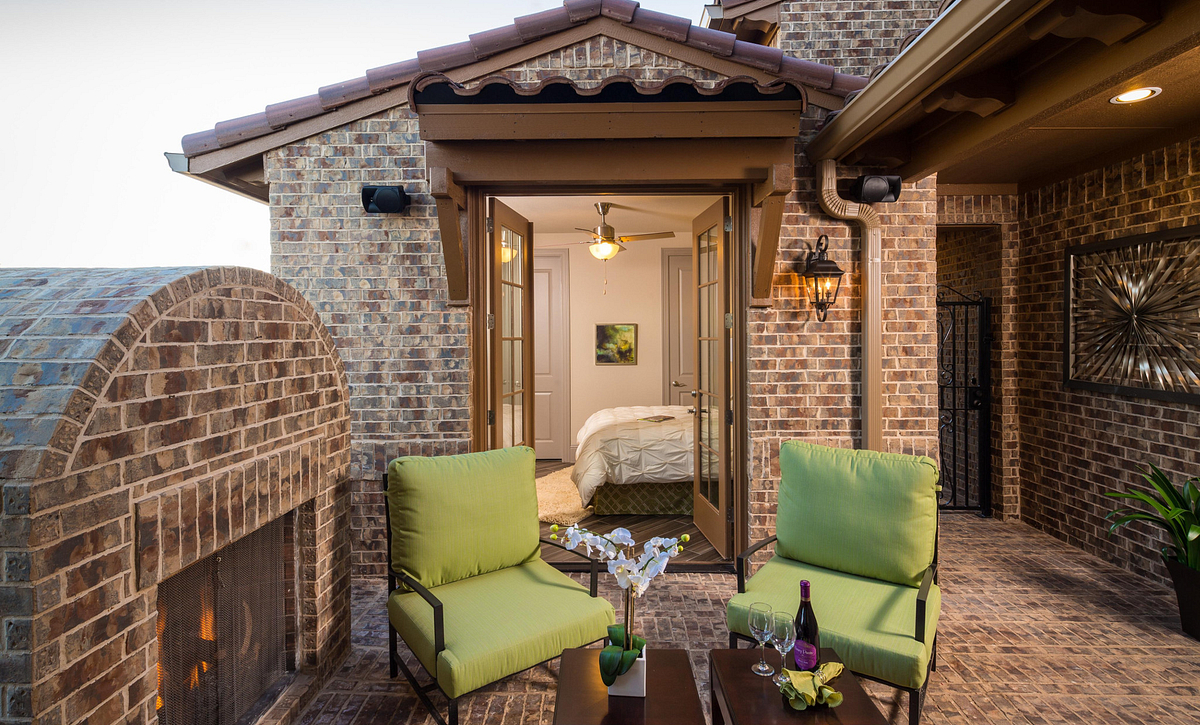 Plan 5030 Outdoor Living