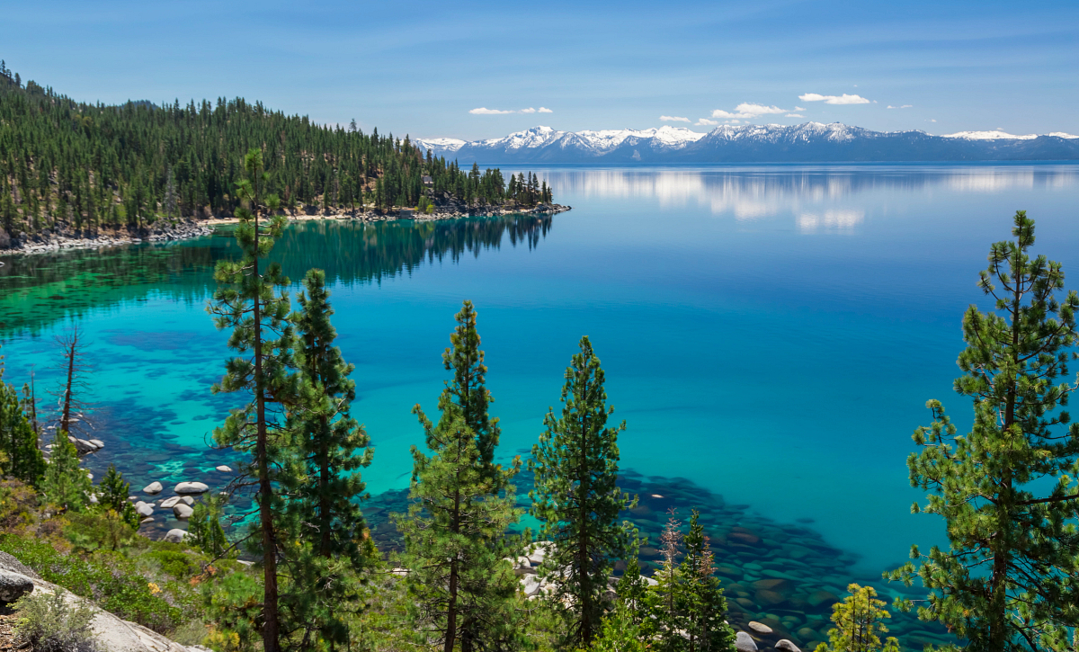 Lake Tahoe Mountains