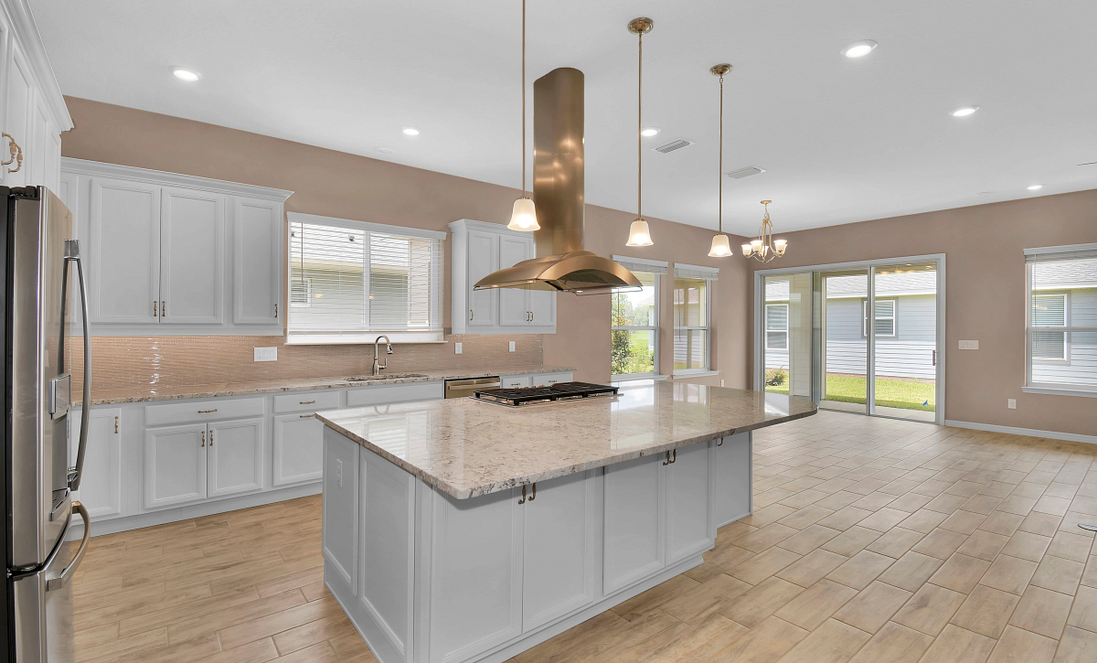 Trilogy at Ocala Preserve Quick Move In Home Imagine Plan Kitchen