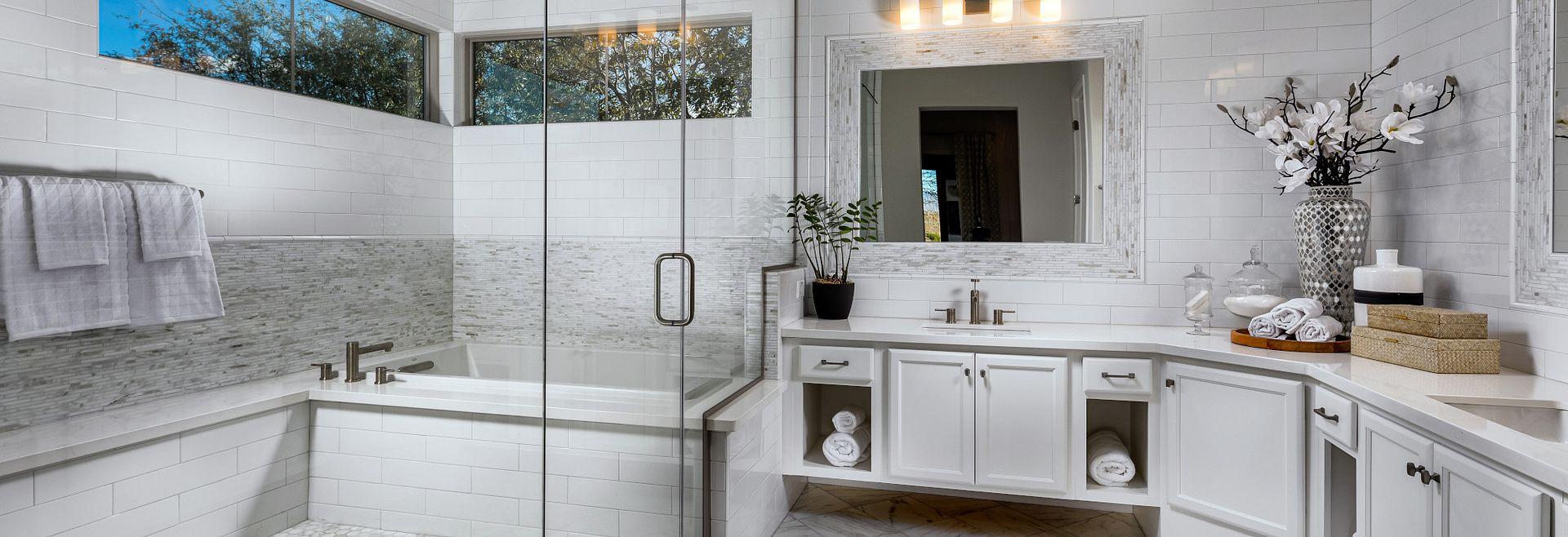 Brasada Model Master Bathroom