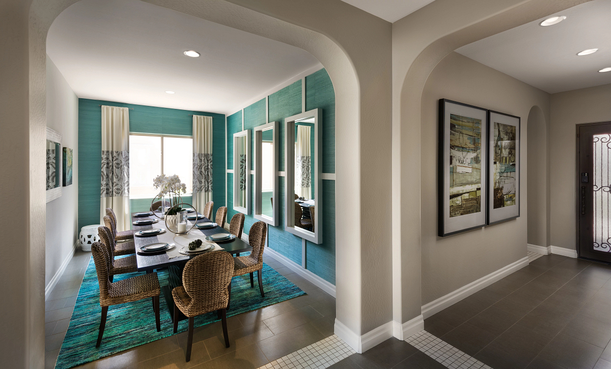 Create Model Entry & Dining Room