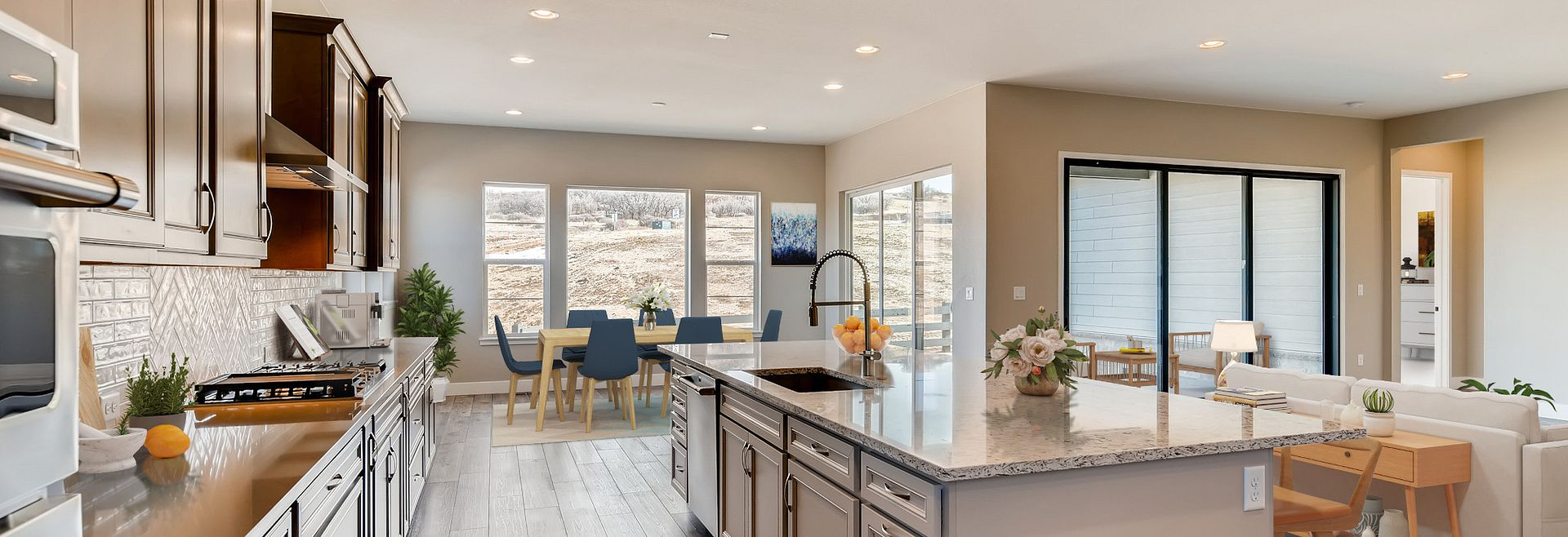 Canyons Luxe Belcourt Kitchen, Great Room & Dining