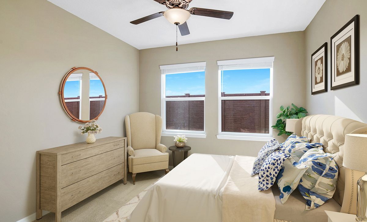 Trilogy at Ocala Preserve Quick Move In Virtually Staged Master Bed