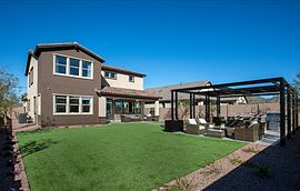 Ascent at Aloravita Plan 4016 Backyard