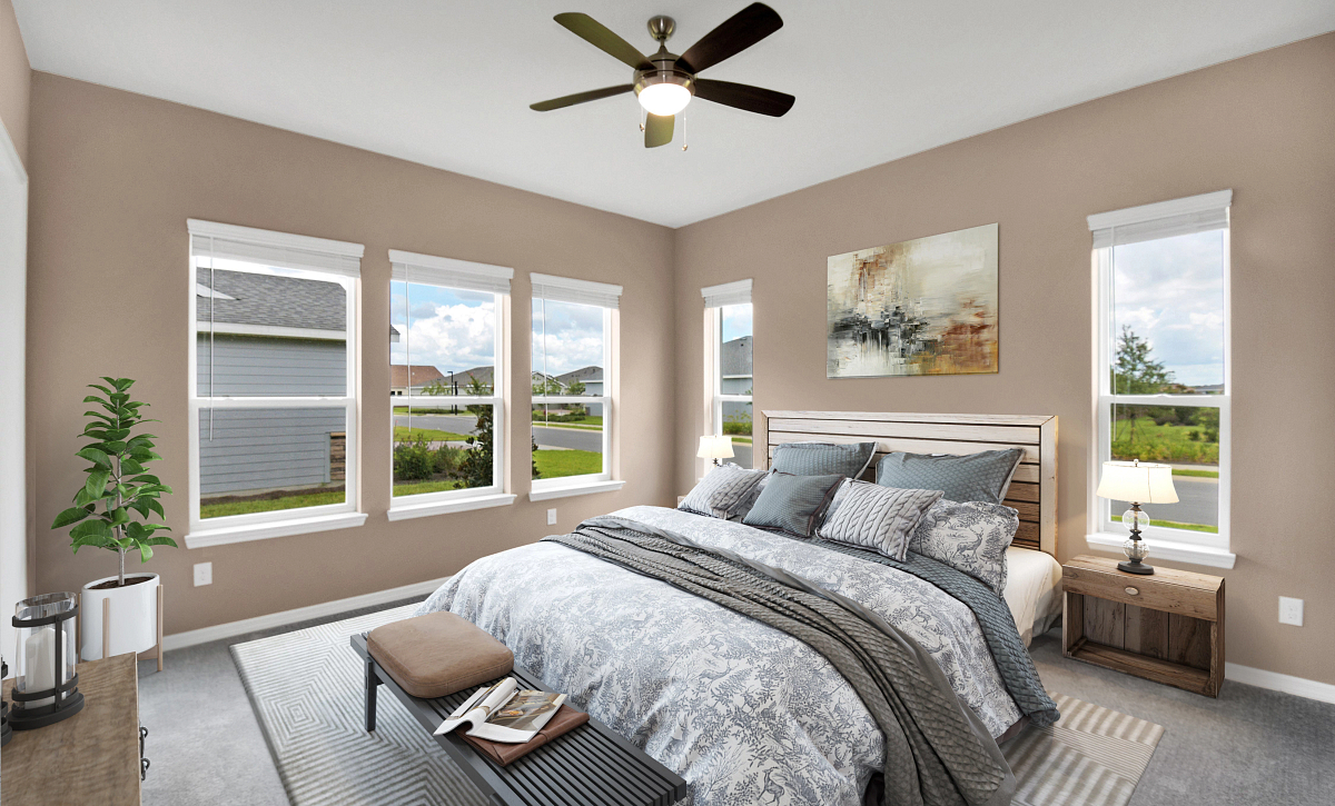 Trilogy at Ocala Preserve Quick Move In Home Virtually Staged  Master Be