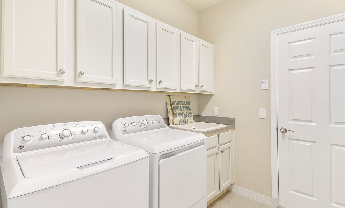 Trilogy at Ocala Preserve Naples Quick Move In Home Laundry