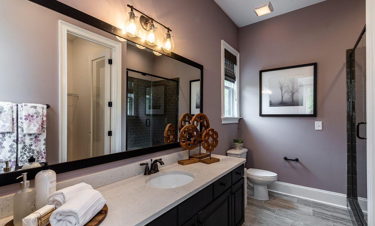 Hadley plan First-floor Guest Suite bathroom (example image)