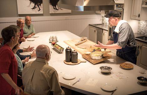 Executive Chef giving Culinary Demo