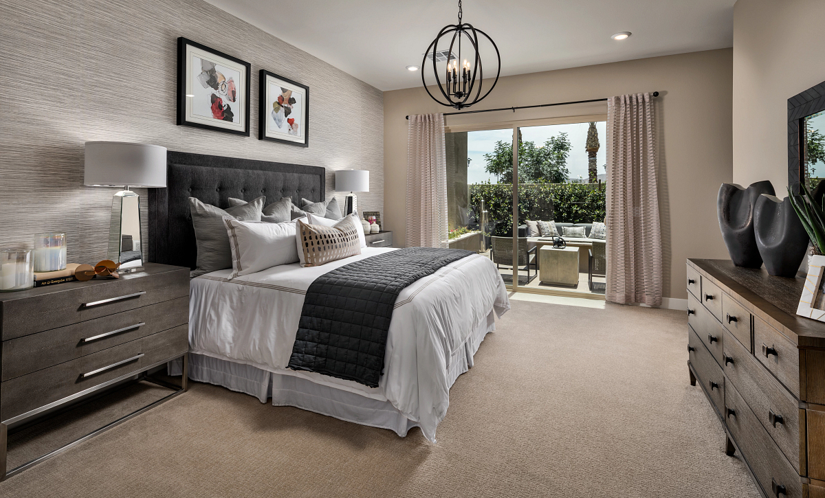 Trilogy Summerlin Luster Master Bedroom