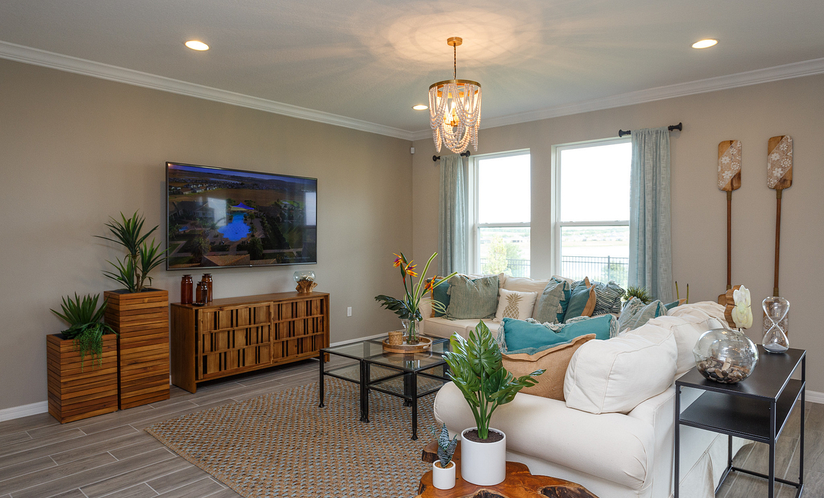Trilogy Orlando Liberty Model Home Great Room