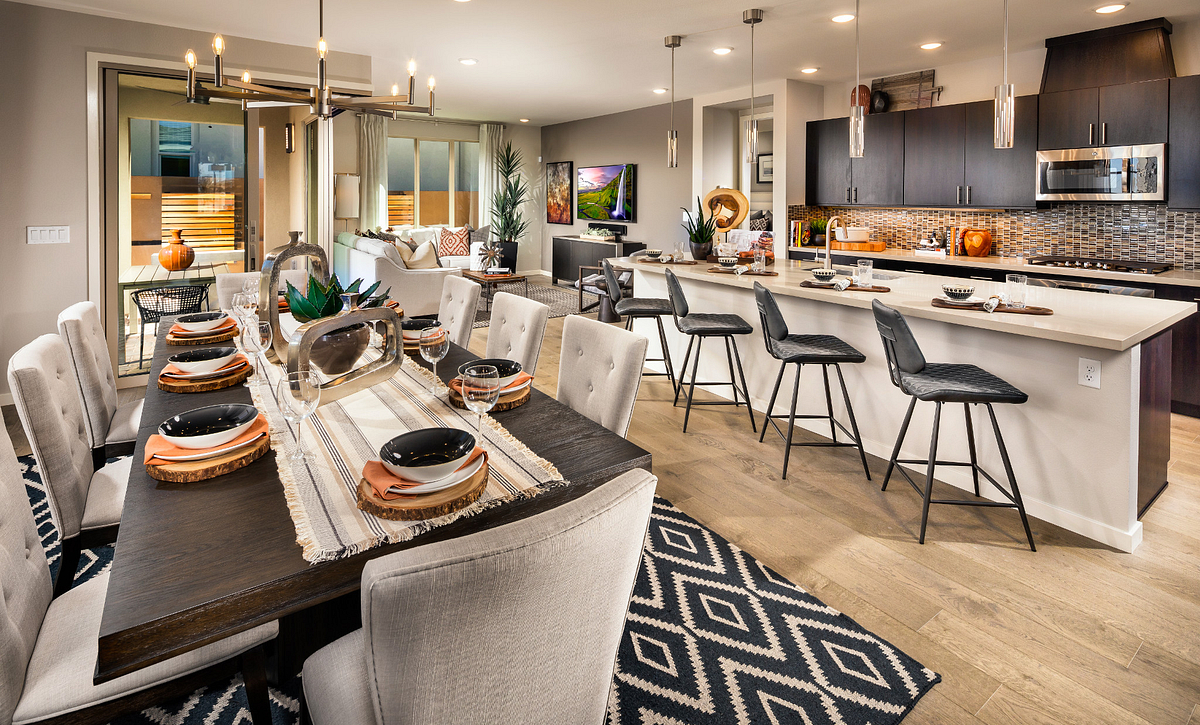 Trilogy in Summerlin Haven Dining & Kitchen