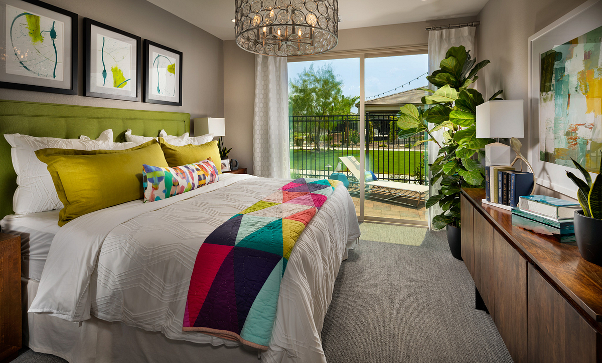 Trilogy Polo Club Aria with Loft Master Bedroom