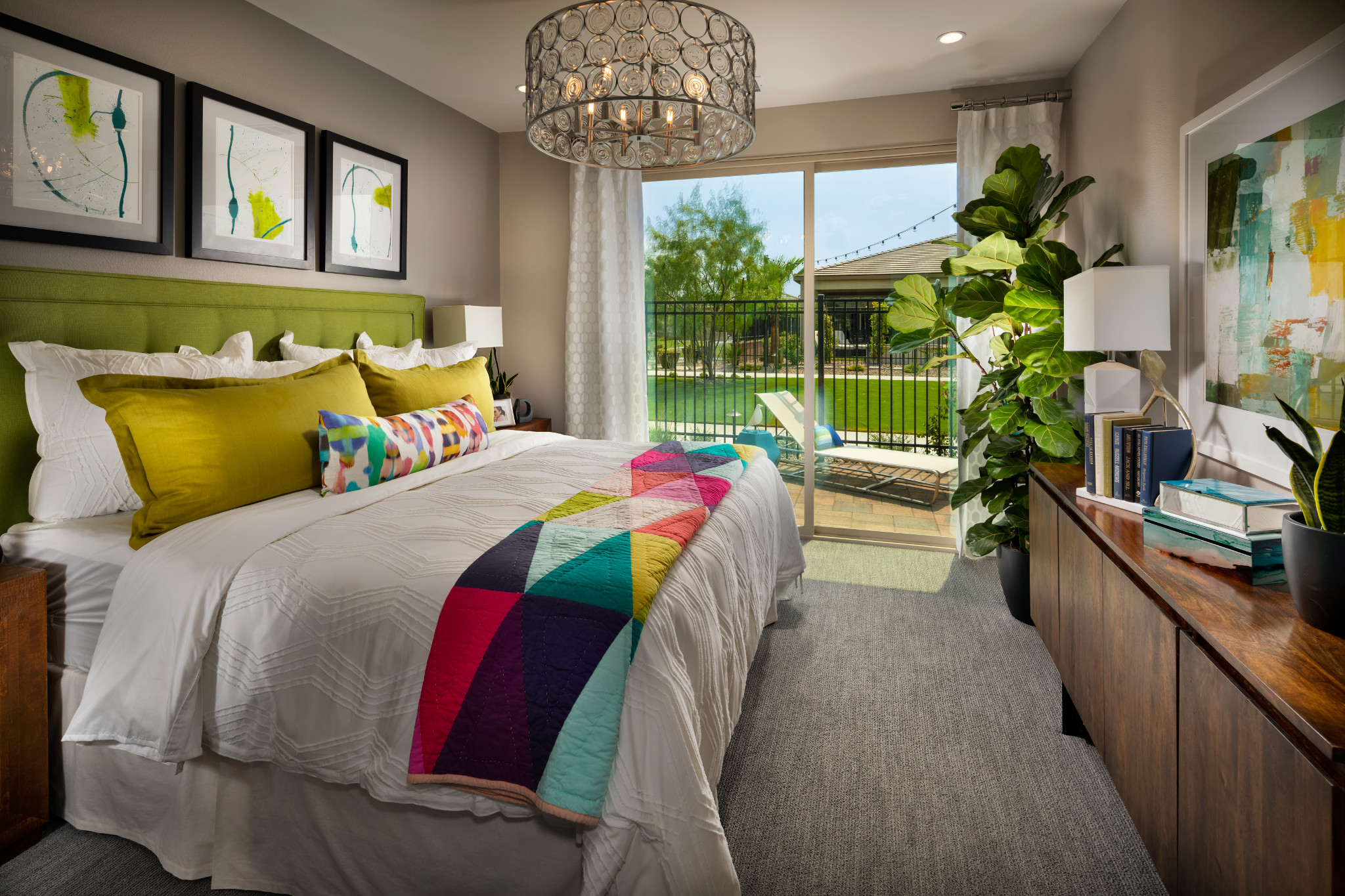 Trilogy Polo Club Aria Master Bedroom