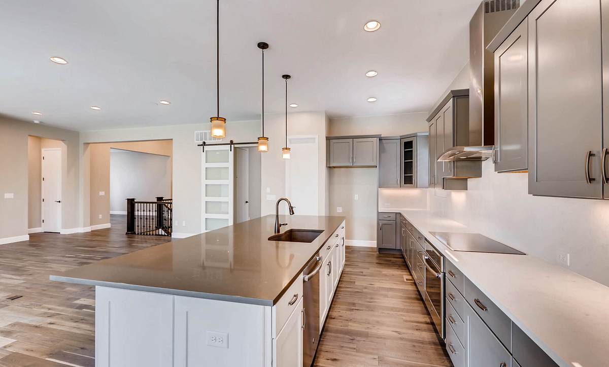 Whispering Pines Woodland Coulter Pine Kitchen