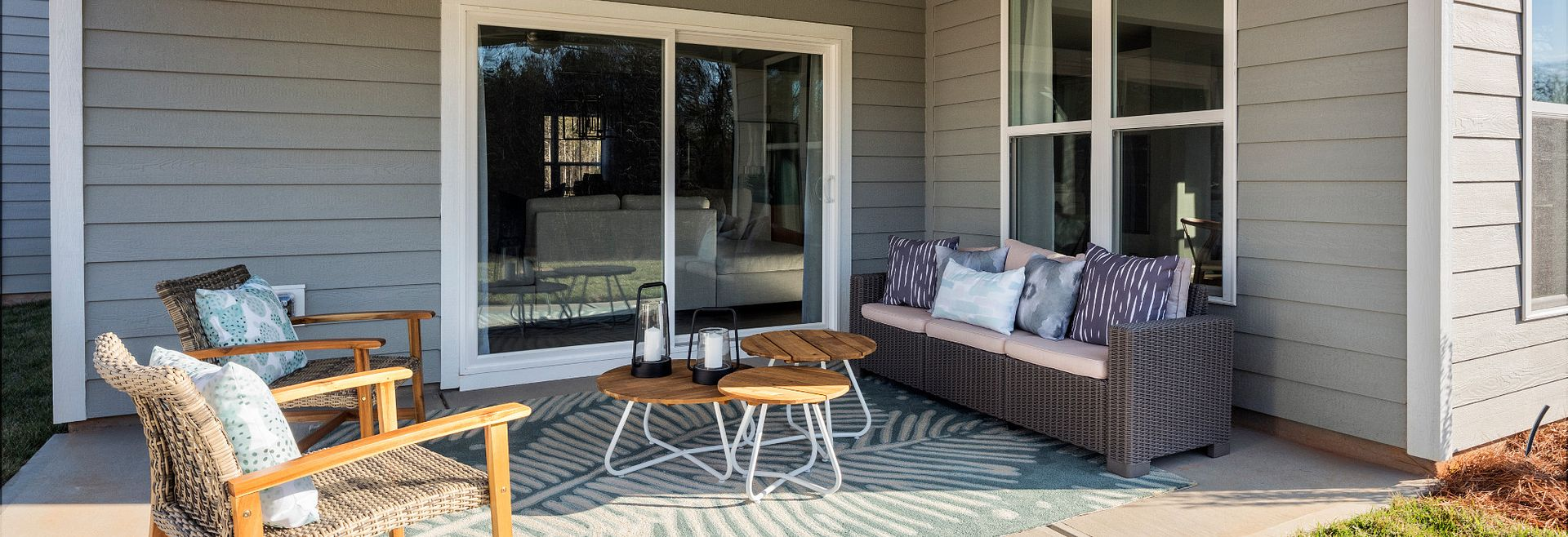Cambridge Model Home Porch
