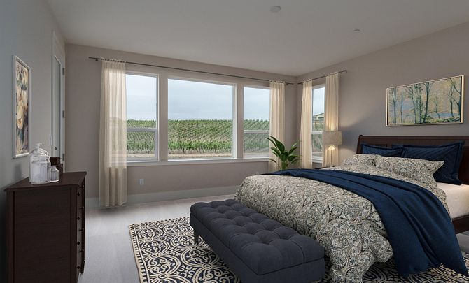 Trilogy Monarch Dunes Monterey Master Bedroom