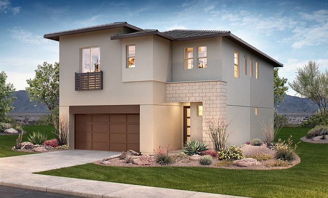 Polaris Plan Exterior B: Sonoran