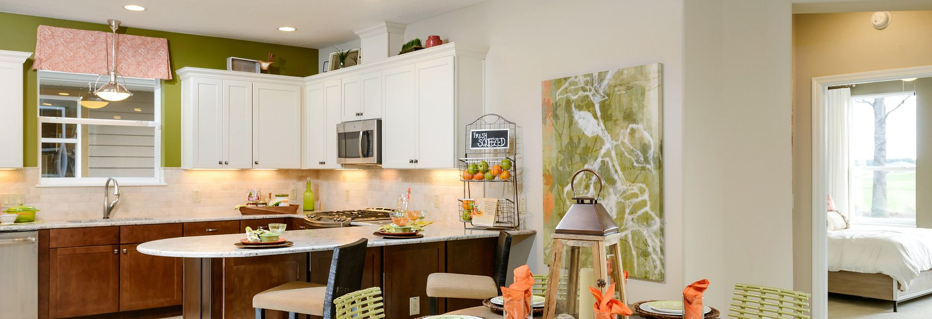 Trilogy at Ocala Preserve Cannes Model Kitchen