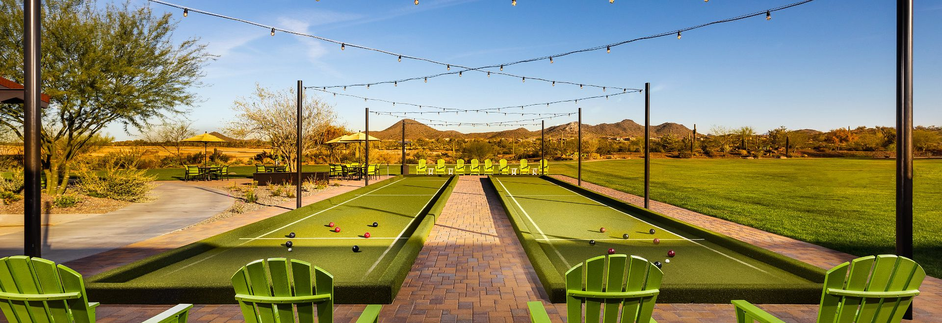 Trilogy at Vistancia Mita Club Bocce Courts