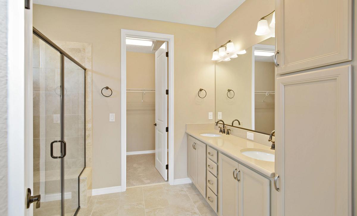 Trilogy at Ocala Preserve Quick Move In Home Monaco Master Bath