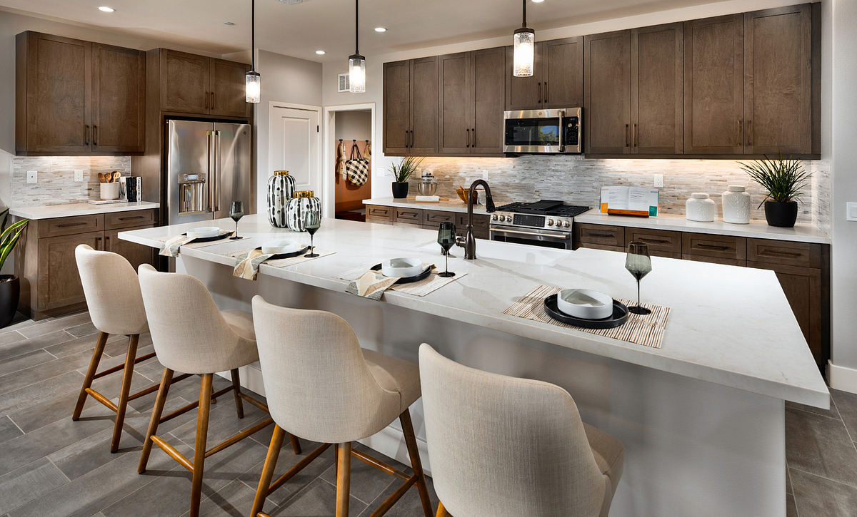 Trilogy at the Polo Club Connect Model Home Kitchen