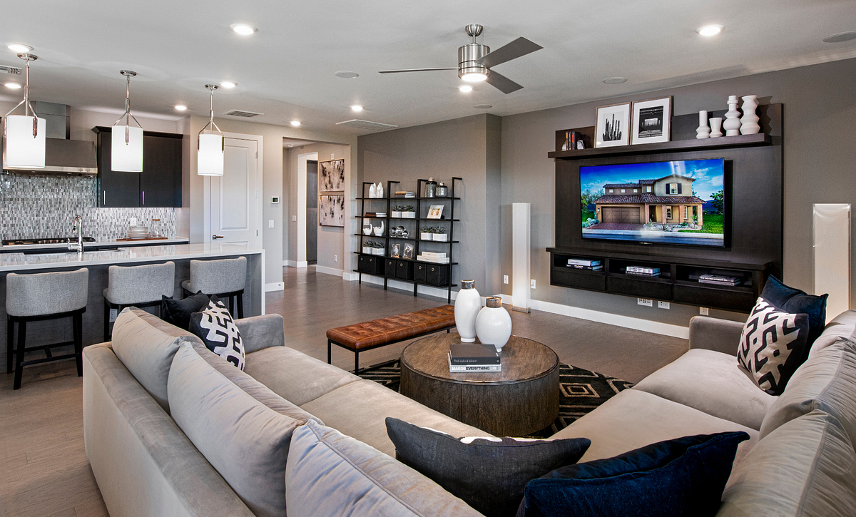 Ascent at Aloravita Plan 4013 Living Room