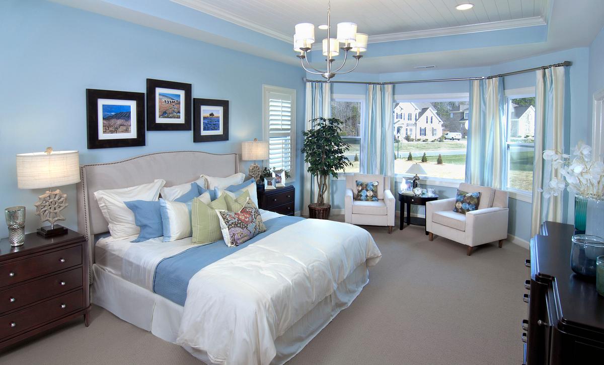 Silverado plan Owner's Suite w/ Tray Ceiling