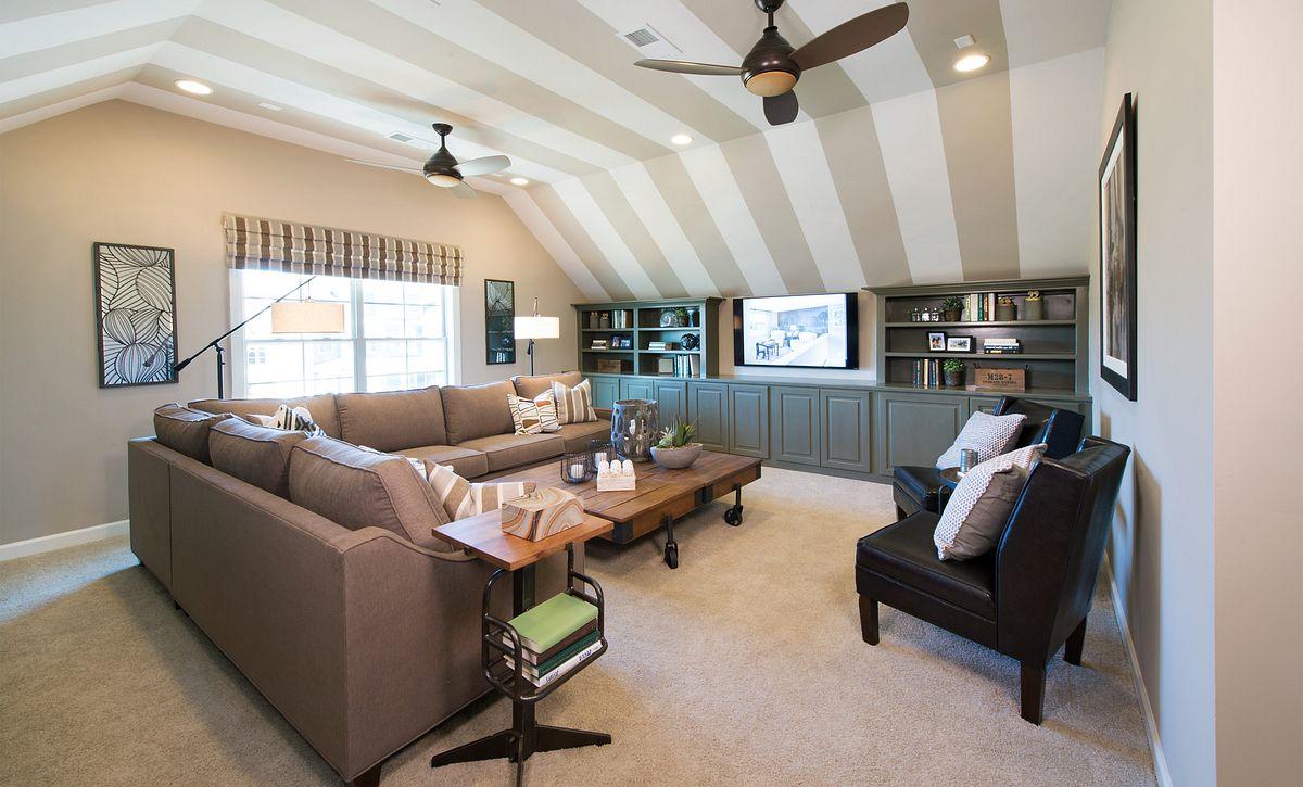 Hampton plan Bonus Room option