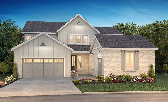 The Canyons Luxe Stonehaven Elevation A