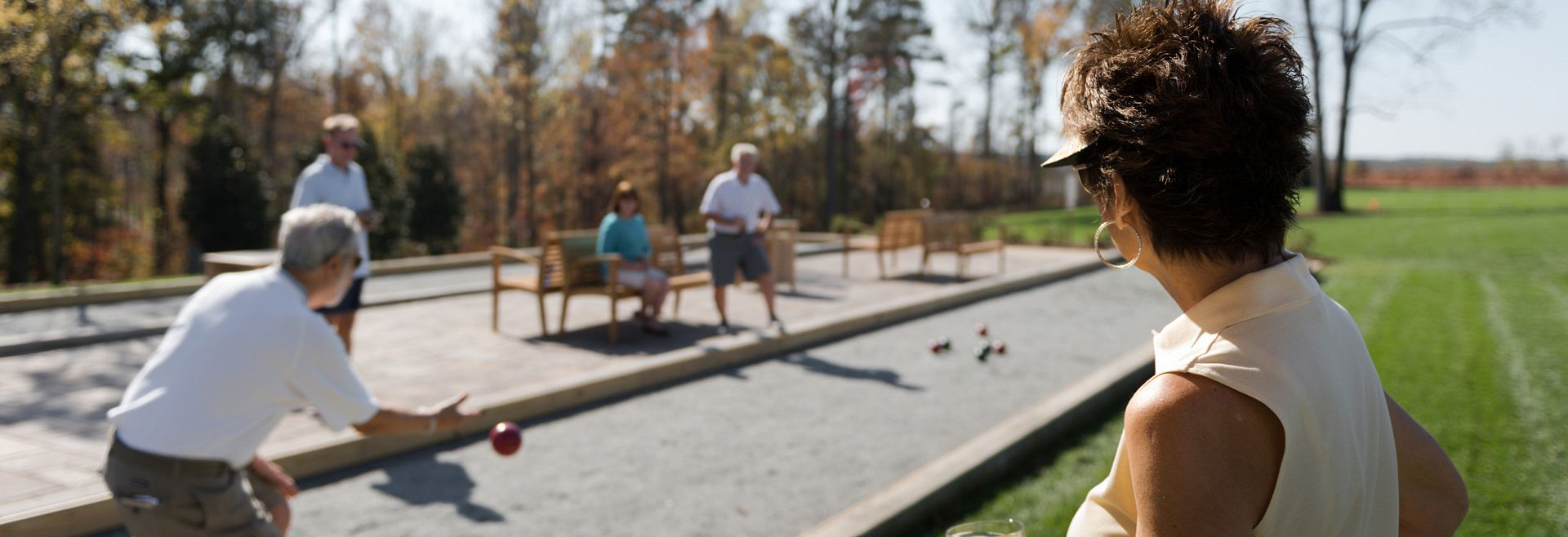 Trilogy Lake Norman Bocce Ball