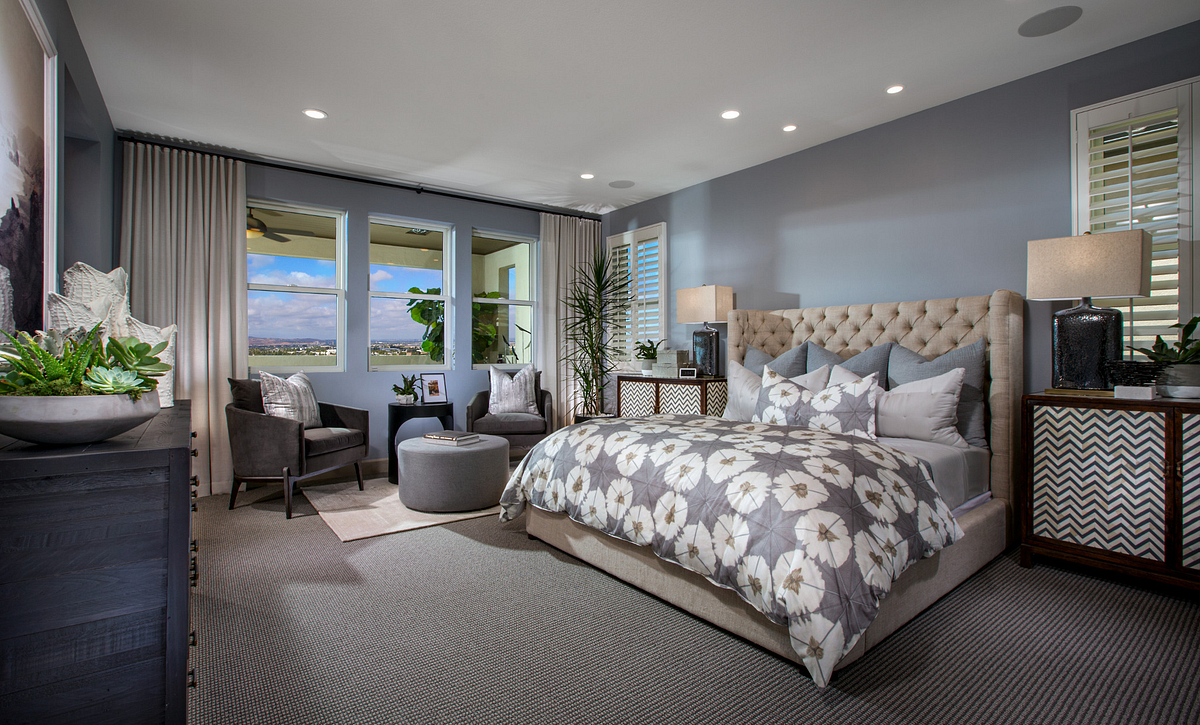 Teresina Plan 4X Master Bedroom