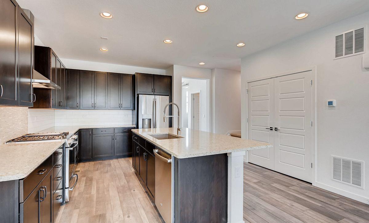 Central Park Plan 2202 QMI Lot 55 Kitchen
