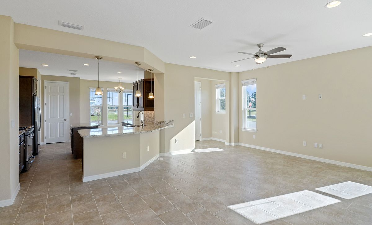 Trilogy at Ocala Preserve Quick Move In Monaco Plan Great Room